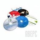 Диски с Вашим логотипом, CD/DVD с цветной картинкой